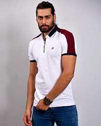 تی شرت یقه دار مردانه فیلا مدل 0850
