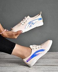 کفش دخترانه هولوگرام دار مدل 0883