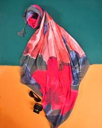 روسری منگوله دار مدل 0947