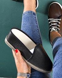 کفش تخت ساده دخترانه مدل 0949