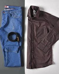 پیراهن مردانه تک جیب مدل 0441