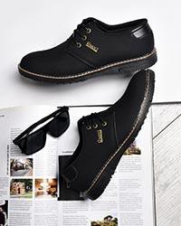 کفش تخت مردانه رویه سوزنی مدل 0520