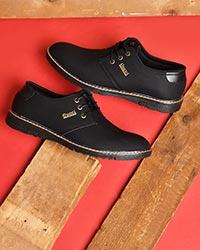 کفش تخت مردانه رویه لوزی مدل 0522