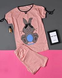 ست دخترانه طرح خرگوش مدل 0532