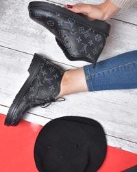 کفش ساقدار دخترانه ال وی مدل 0562