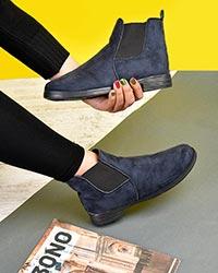 کفش نیم بوت دخترانه مدل 0283