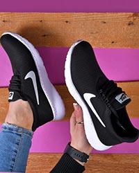 کفش ورزشی دخترانه بافتی نایک مدل 6701