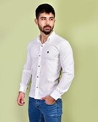 پیراهن مردانه راه راه مدل 0698