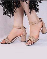 کفش دخترانه پاشنه بلند مدل 0024