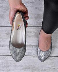 کفش تخت لمه دخترانه مدل 0296