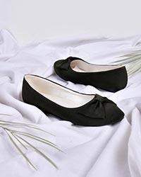کفش تک پاپیون دخترانه مدل 0297