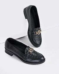 کفش تخت دخترانه مازراتی رویه خطی مدل 0299