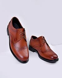 کفش مردانه تخت سوزنی مدل 3348