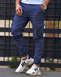 شلوار اسلش مردانه شش جیب دمپا کش  مدل 0469