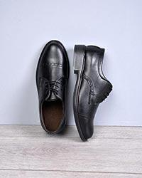 کفش تخت مردانه طرح دار مدل 9998