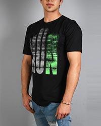 تی شرت مردانه پنبه سوپر RUN مدل 0509