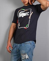 تی شرت پنبه سوپر مردانه لاگوست مدل 0511