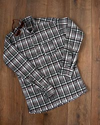 پیراهن مردانه چهار خانه تک جیب مدل 6570