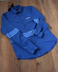 پیراهن مردانه ریبوک طرح دار مدل 5056