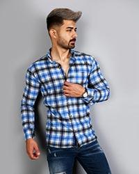 پیراهن مردانه مدل چهارخانه 2023