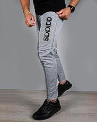 شلوار اسلش مردانه دمپا ساده دو رنگ آدیداس مدل 3802