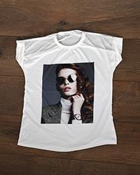تی شرت زنانه سرشانه تور fashion مدل 8545