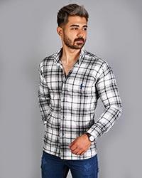 پیراهن مردانه چهار خانه پولو مدل 9022