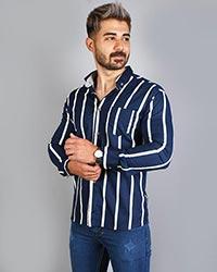 پیراهن مردانه دو رنگ مدل 3245