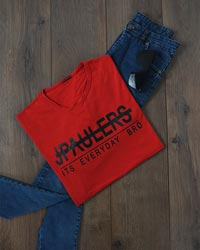 تی شرت مردانه  نخ پنبه JPAULERS  مدل 9057