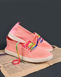 کفش دخترانه بافتبندی مدل 0100