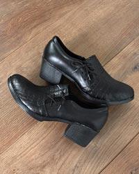 کفش پاشنه بلند دخترانه بندی مدل 1073