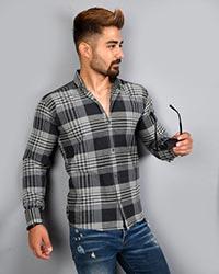 پیراهن مردانه چهارخانه مدل 7785