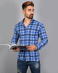 پیراهن مردانه چهارخانه مدل 7786