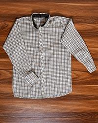 پیراهن مردانه چهارخانه ریز مدل 1688
