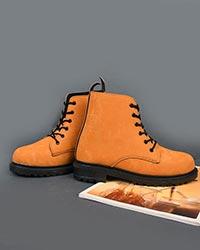کفش نیم بوت زنانه ابر و بادی بندی مدل 1834