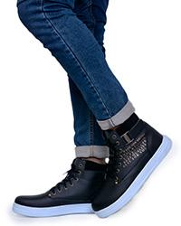 کفش بوت فشن کلاسیک طرح gucci