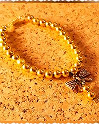 دستبند پاپیون طلایی AP gallery
