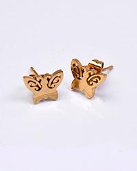 گوشواره استیل زنانه پروانه