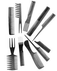 ست 10 تایی شانه مو