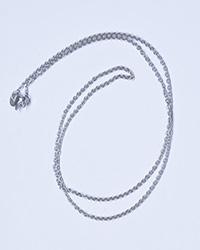 زنجیر مردانه استیل نقره ای