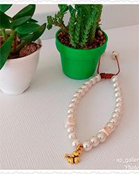 دستبند APگالری مدل گل 3پر