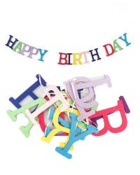 آویز نمدی حروف تولد مبارک (HAPPY BIRTH DAY)
