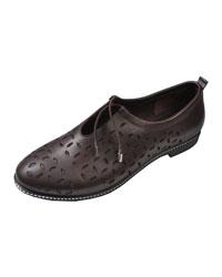 کفش چرم زنانه آریوان مدل 923 GHAHVAEI