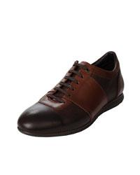 کفش اسپرت چرم مردانه آریوان مدل DART GHAHVAEI