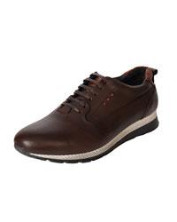 کفش اسپرت چرم مردانه آریوان مدل TODESA  GHAHVAEI