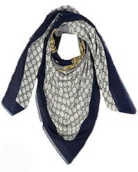 روسری نخی طرح گوچی