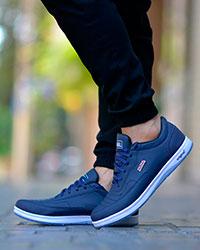 کفش ورزشی مردانه رنگ سرمه ای