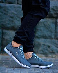 کفش ورزشی مردانه رنگ طوسی