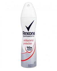 اسپری ضد تعریق زنانه رکسونا Rexona مدل antibacterial protection