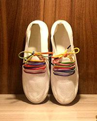 کفش زنانه رویه بافتی